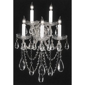 Crystorama Maria Theresa 5-Light Swarovski Elements Crystal Sconce