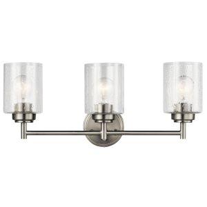 Kichler Winslow Bath 3-Light in Brushed Nickel