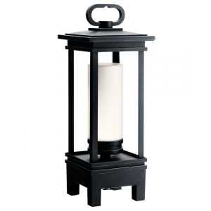 """Kichler South Hope 19"""" LED Outdoor Portable Lantern in Rubbed Bronze"""