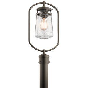 Kichler Lyndon Outdoor Post Lantern in Architectural Bronze