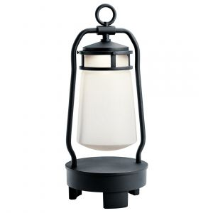 "Kichler Lyndon 19"" LED Outdoor Portable Bluetooth Speaker Lantern"