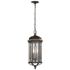 Kichler Galemore 3-Light Outdoor Hanging Pendant in Olde Bronze