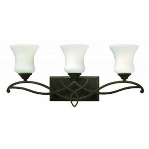 Hinkley Brooke 3-Light Bathroom Vanity Light in Olde Bronze
