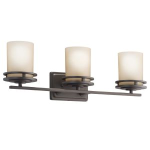 Kichler Hendrik 3-Light Bath Vanity in Olde Bronze