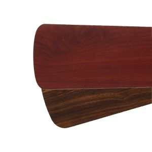 "Quorum Fan Accessories 52"" Fan Blades in Rosewood/Walnut (Set of 5)"