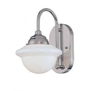 Millennium Lighting Neo-Industrial 1-Light Wall Sconce in Chrome