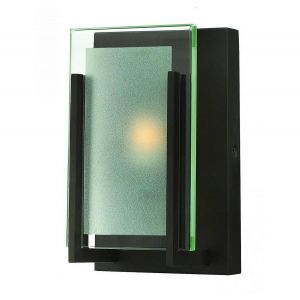 Hinkley Latitude 1-Light Bathroom Wall Sconce in Oil Rubbed Bronze