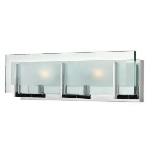 "Hinkley Latitude LED 18"" Bathroom Vanity Light in Chrome"
