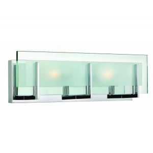 "Hinkley Latitude 18"" Bathroom Vanity Light in Chrome"