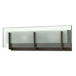 "Hinkley Latitude LED 18"" Bathroom Vanity Light in Oil Rubbed Bronze"