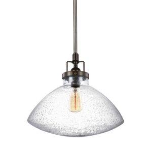 Sea Gull Lighting Belton 1-Light Pendant in Heirloom Bronze