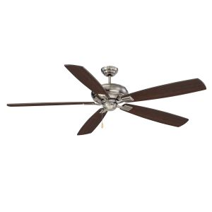 """Savoy House Wind Star 68"""" Ceiling Fan in Brushed Pewter"""
