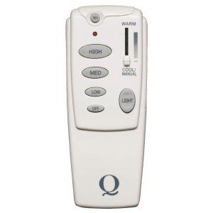 Quorum Fan Accessories 2-Wire Canopy Remote Control Kit in White