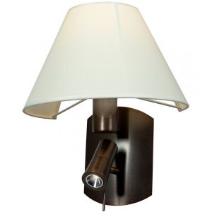 """Access Lighting Cyprus 14.25"""" LED/Fluorescent Wall Lamp in Bronze"""