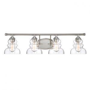 Millennium Lighting 7000 Series 4-Light Bath Vanity in Satin NIckel