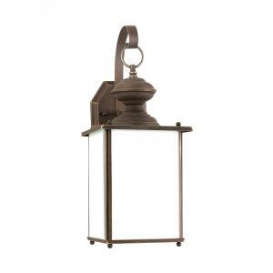 Sea Gull Lighting Jamestowne One Light Outdoor Wall Lantern in Antique Bronze