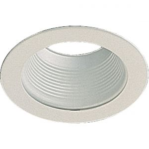 """Quorum Fan Accessories 5"""" Stepped Baffle Track in White"""