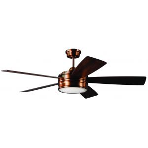 "Craftmade Braxton 52"" Ceiling Fan in Brushed Copper"