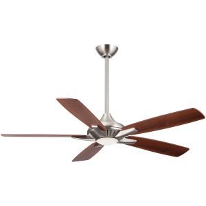"Minka-Aire Dyno 52"" Ceiling Fan in Brushed Nickel"