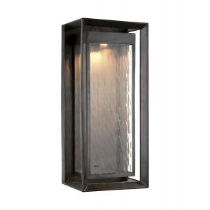 Feiss Urbandale Outdoor LED Modern Post Lantern in Antique Bronze