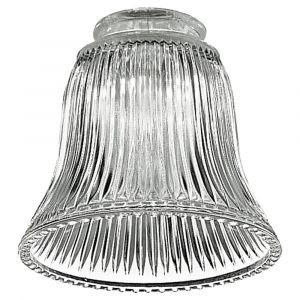 Monte Carlo Ceiling Fan Glass in Clear
