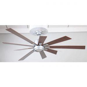 "Craftmade Katana 72"" Ceiling Fan w/ Walnut Blades in Titanium"