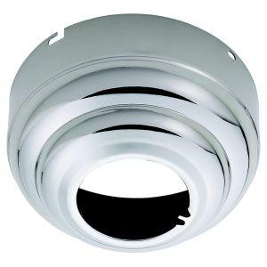 "Monte Carlo 5.25"" Slope Ceiling Fan Adapter in Polished Nickel"