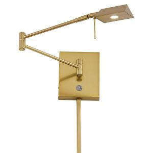 "George Kovacs George'S Reading Room 6"" Wall Lamp in Honey Gold"