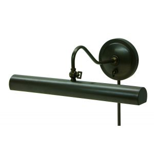 """House of Troy 16"""" Library Lamp in Oil Rubbed Bronze Finish"""