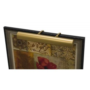 """House of Troy Traditional 30"""" Picture Light in Gold Finish"""