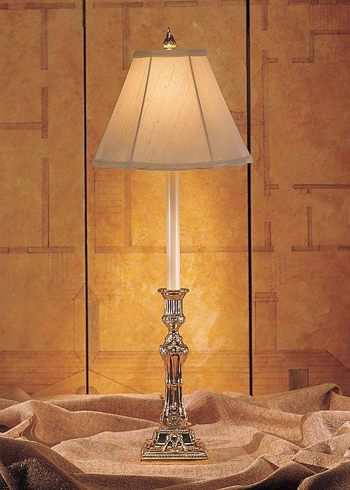 Wildwood Lamps Ram S Head Candlestick Buffet Lamp Buffet