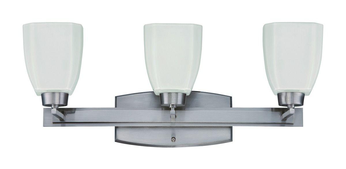Craftmade Bridwell 3-Light Vanity Fixture In Brush Nickel