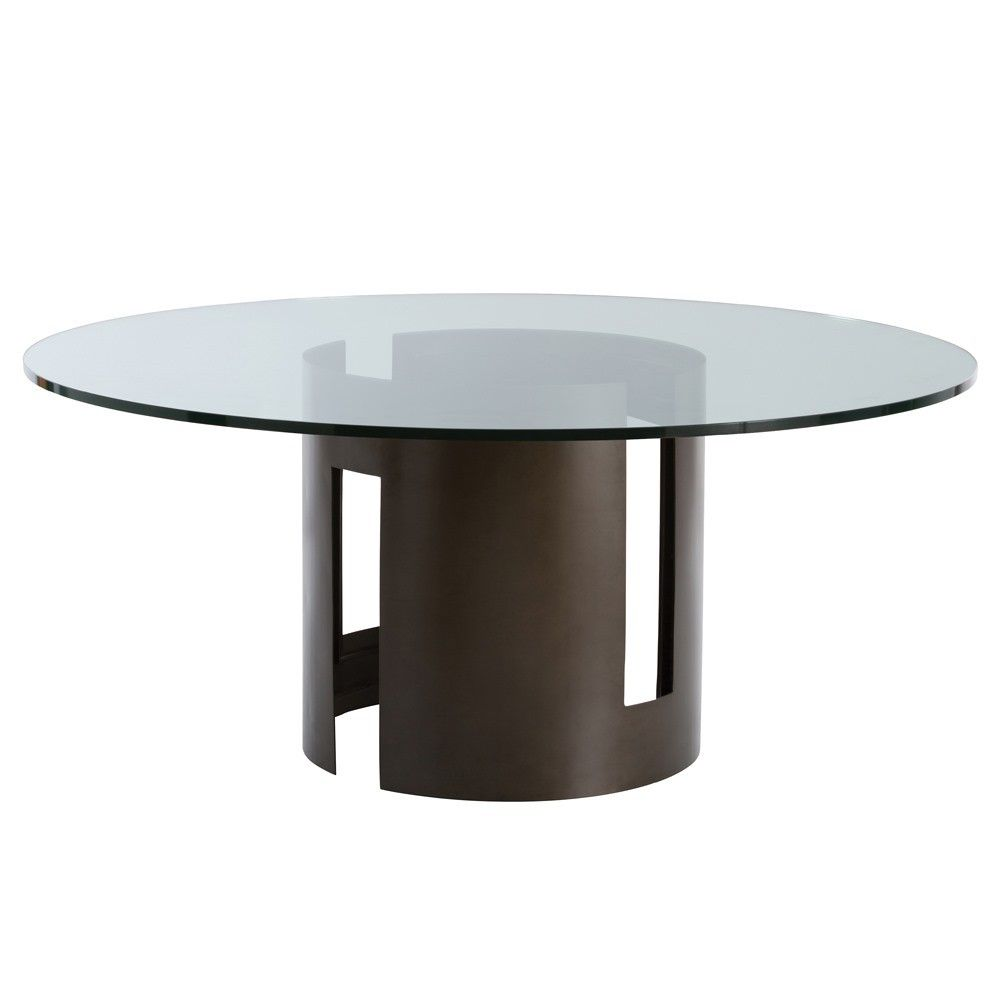 Arteriors Thatcher 66 Dining Table In Natural Iron Tables