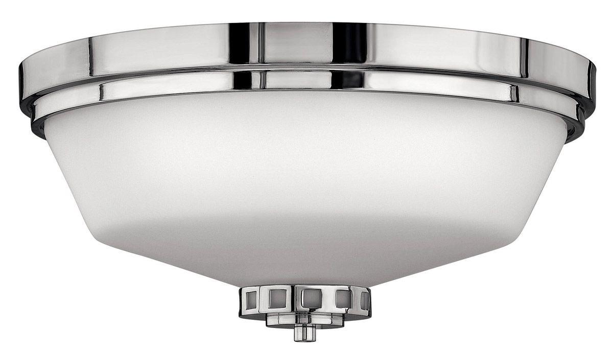 Hinkley 5191CM Ashley 3-Light Bath Flush Mount In Chrome