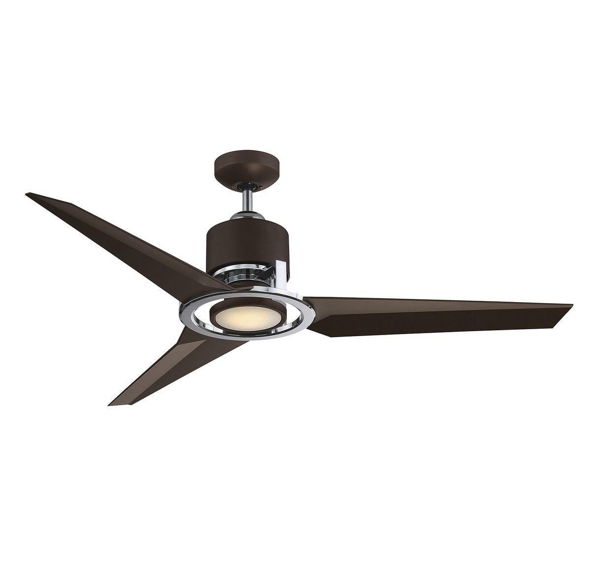 High Resolution Quality Ceiling Fans 5 Chrome Ceiling Fan: Savoy House Starling 3-Blade Ceiling Fan In Metallic