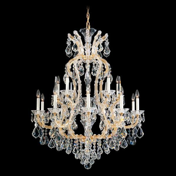 Schonbek Maria Theresa 16 Light Crystal Chandelier