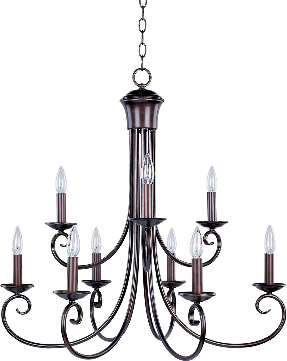 The lighting loft Beams Tap To Expand Home Lighting Design Maxim Lighting Loft 9light Chandelier In Oil Rubbed Bronze