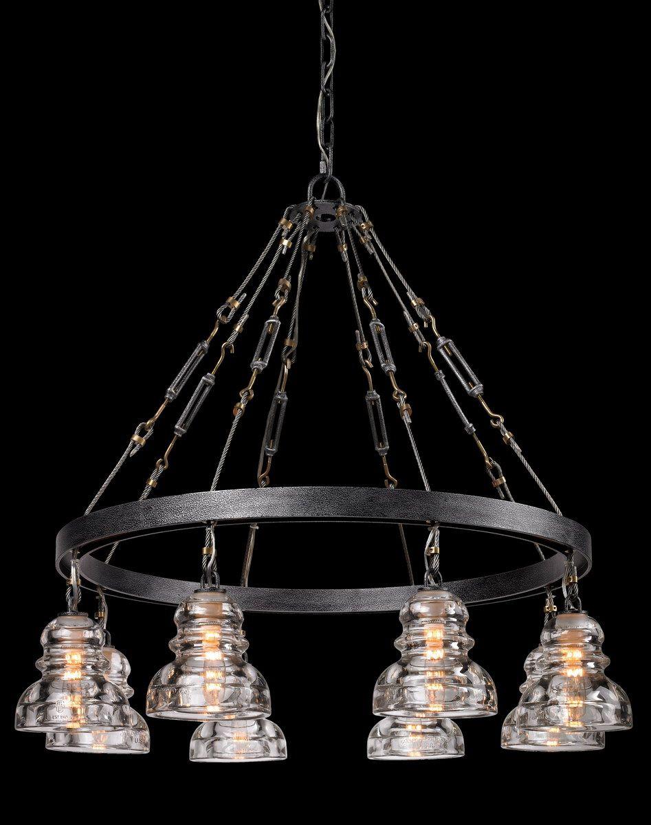 Troy Lighting Menlo Park 8 Light Pendant