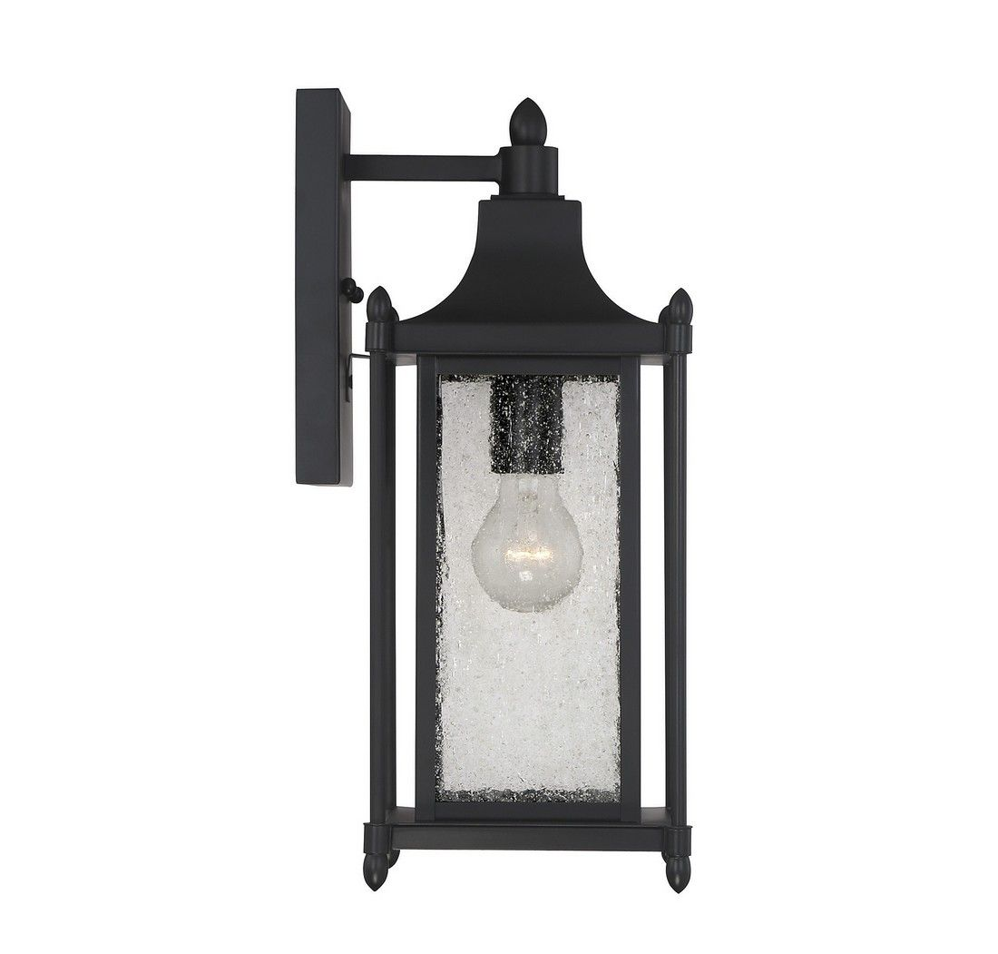 Savoy House Dunnmore 16 Quot Outdoor Wall Lantern In Black