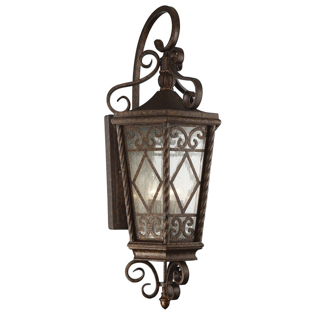 Outdoor Wall Sconce Half Sun And Details Rustic Light: Savoy House Pierce Paxton 4-Light Outdoor Wall Lantern In