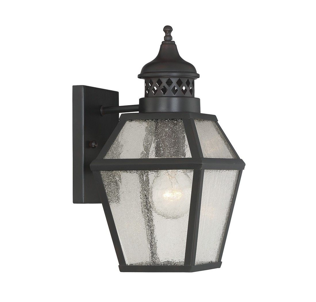 Outdoor Wall Sconce Half Sun And Details Rustic Light: Savoy House Chiminea Outdoor Wall Lantern In English
