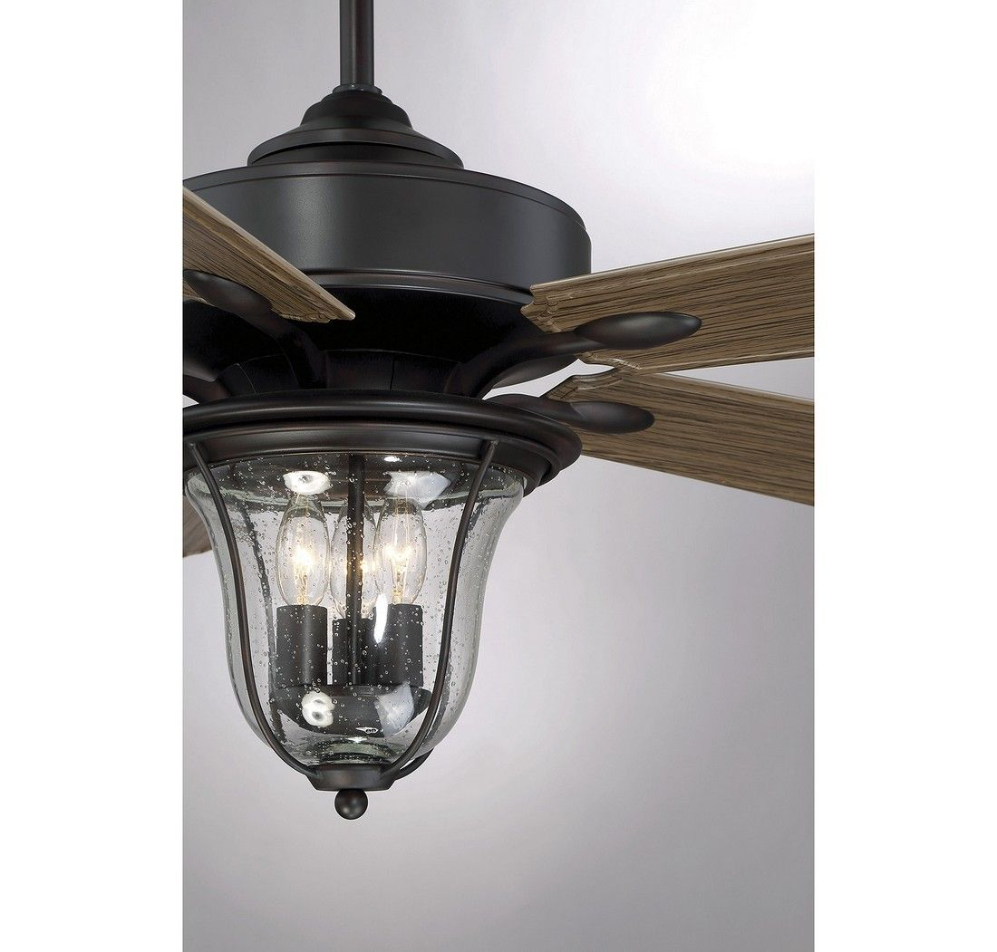 """New 52 3 Light Bronze Indoor Ceiling Fan Best Price: Savoy House Trudy 52"""" 3-Light Ceiling Fan In English"""