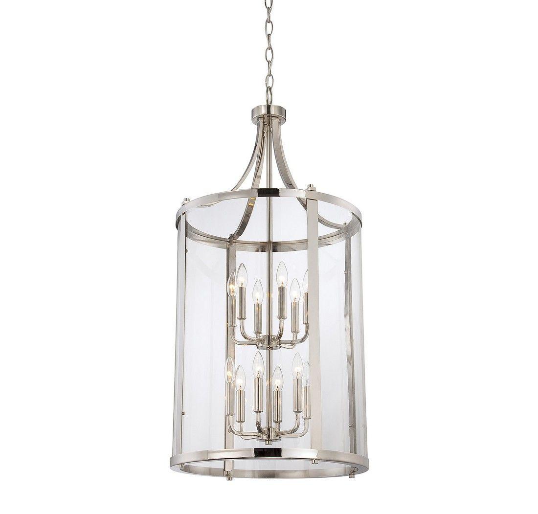 Savoy House Foyer Light : Savoy house penrose light foyer lantern in polished