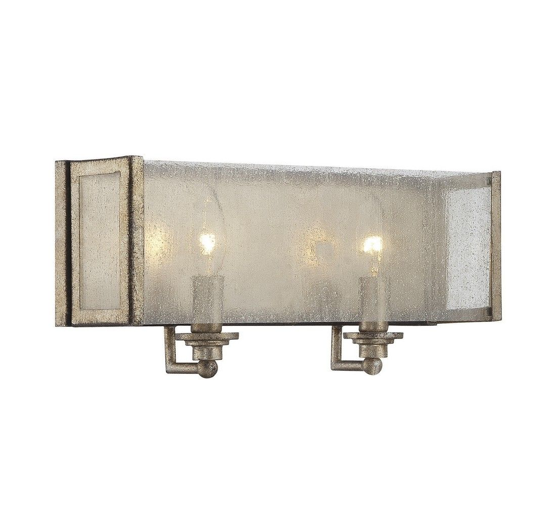 Savoy House Chelsey 2-Light Vanity Bar In Oxidized Silver