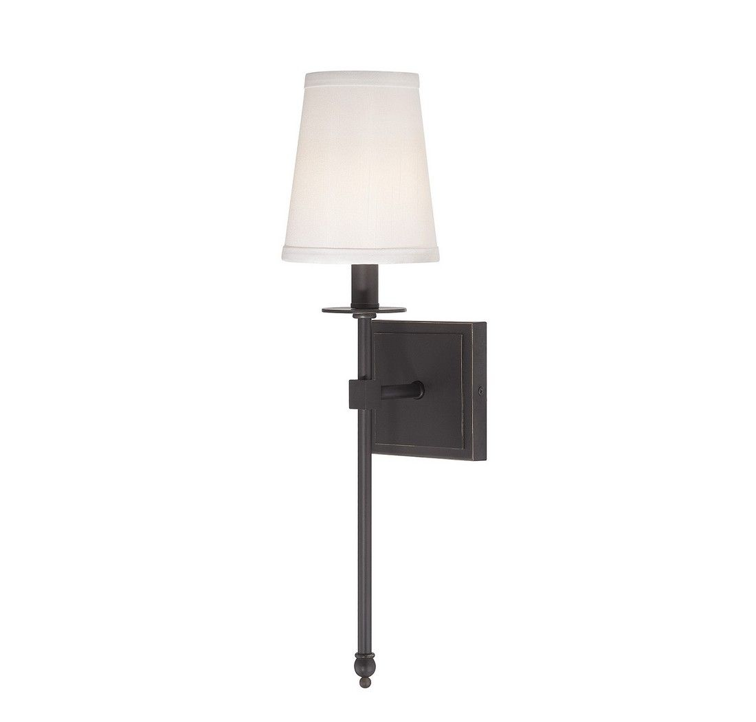 Savoy House Monroe 20 Wall Sconce In Clic Bronze