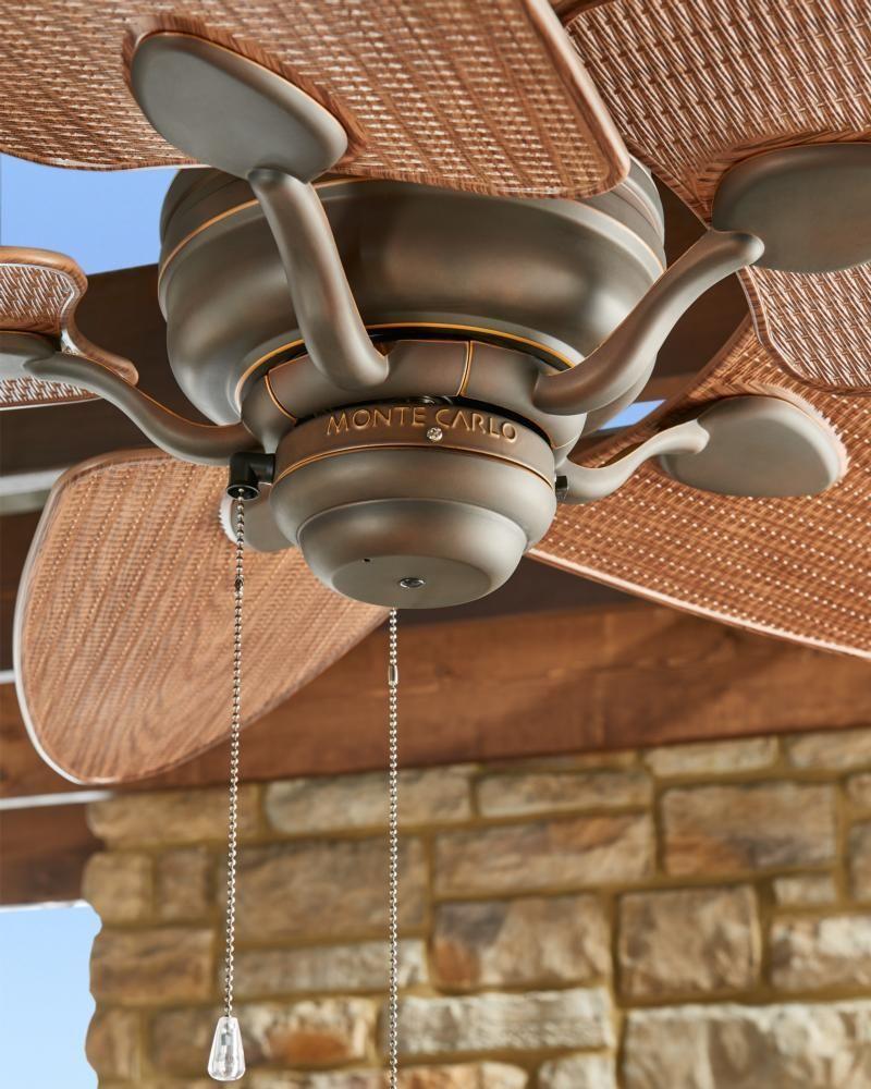 Monte Carlo 56 Quot Peninsula Indoor Outdoor Wet Rated Ceiling