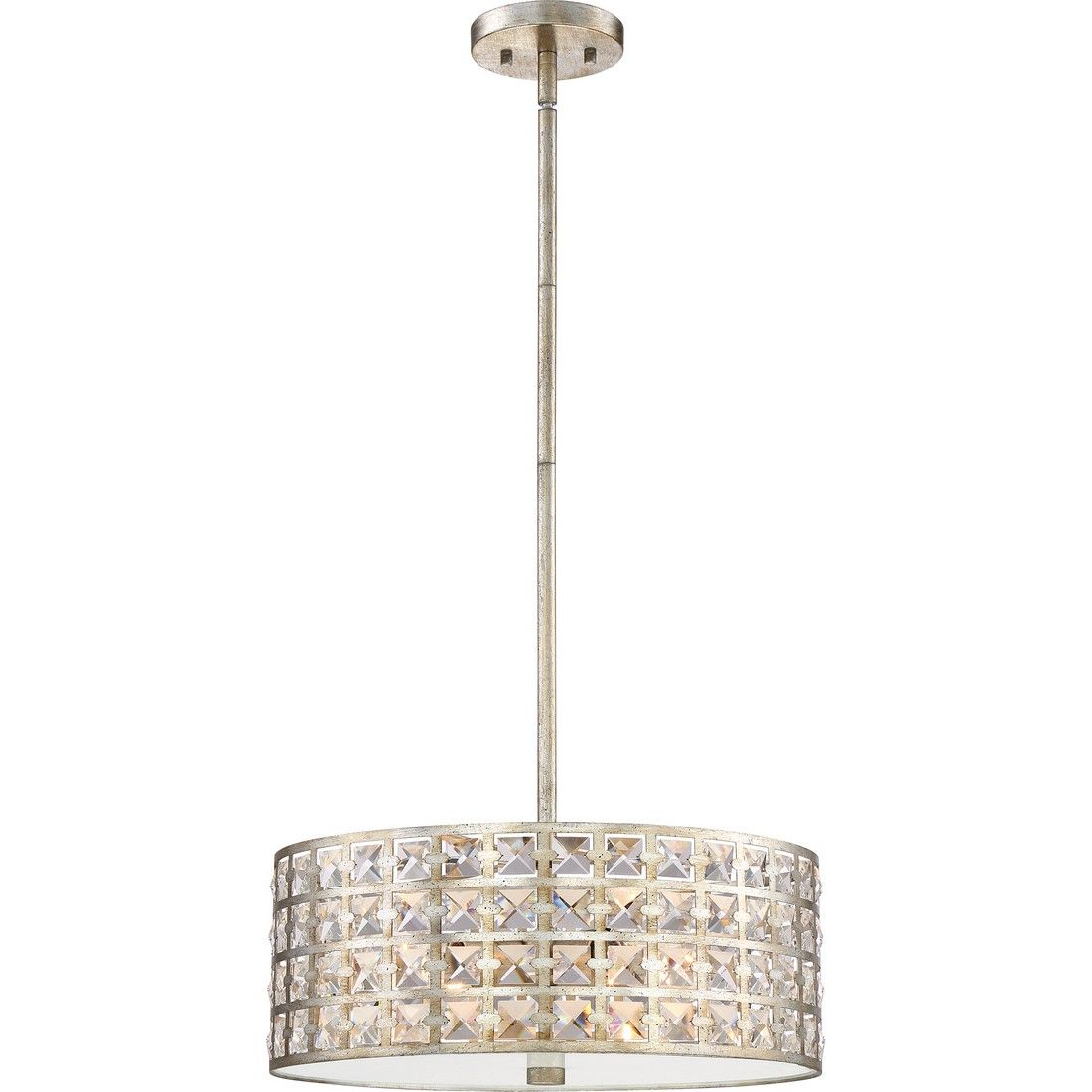 Quoizel Luxury 4 Light Pendant In Vintage Gold