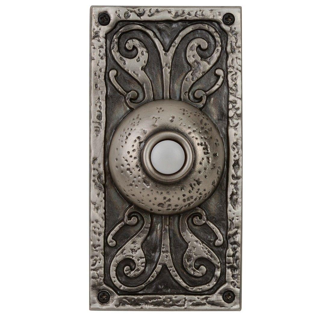 Craftmade Teiber Lighted Push Button Door Bell In Antique