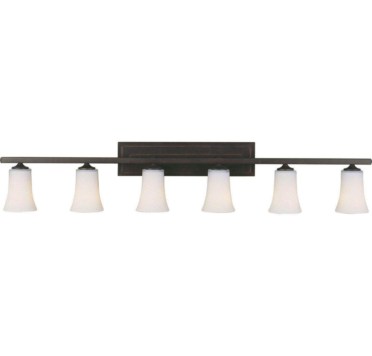 Feiss Boulevard Collection 6 Light Vanity Strip In Bronze