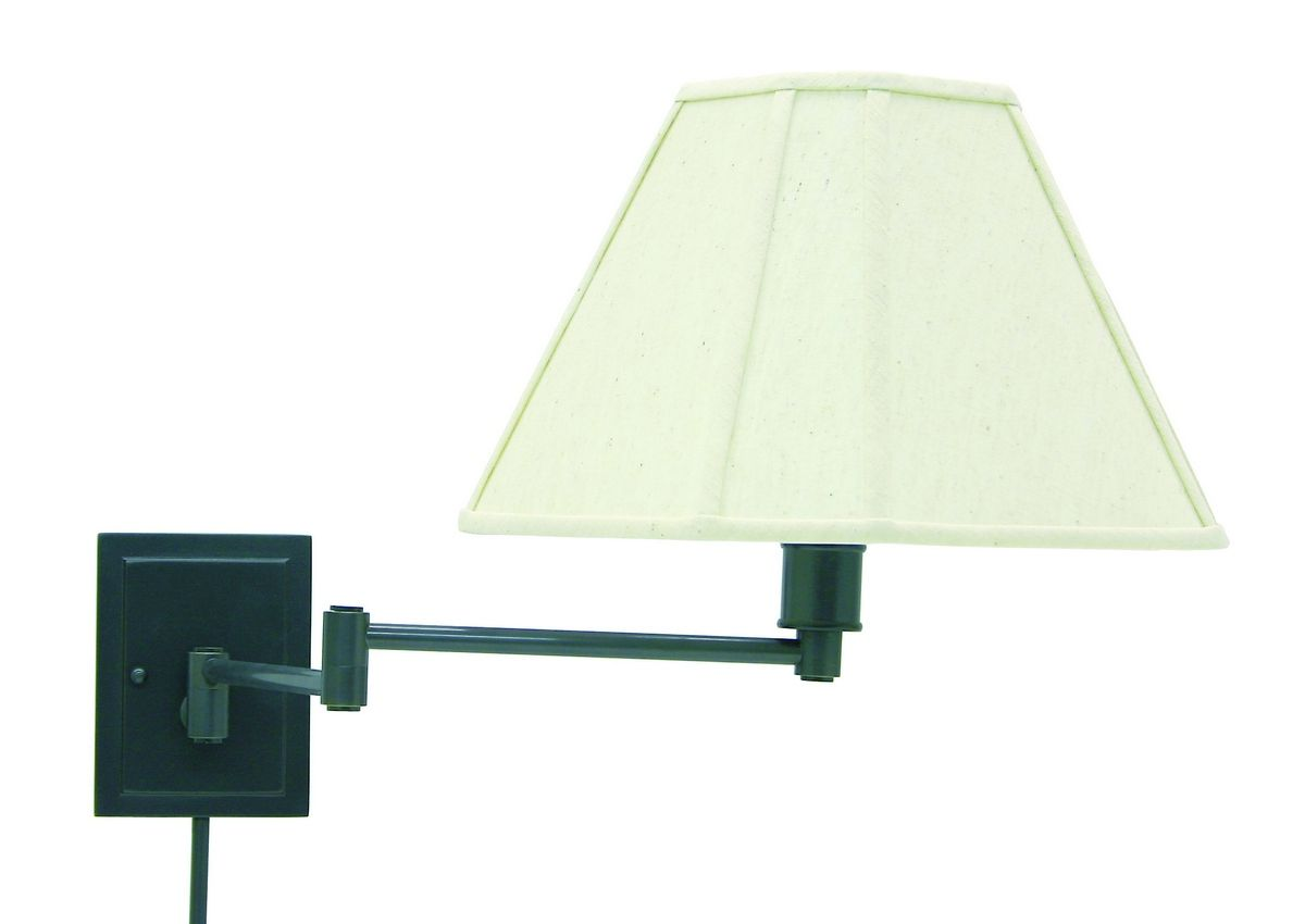 House Of Troy Swing Arm Wall Lamp Oil Rubbed Bronze